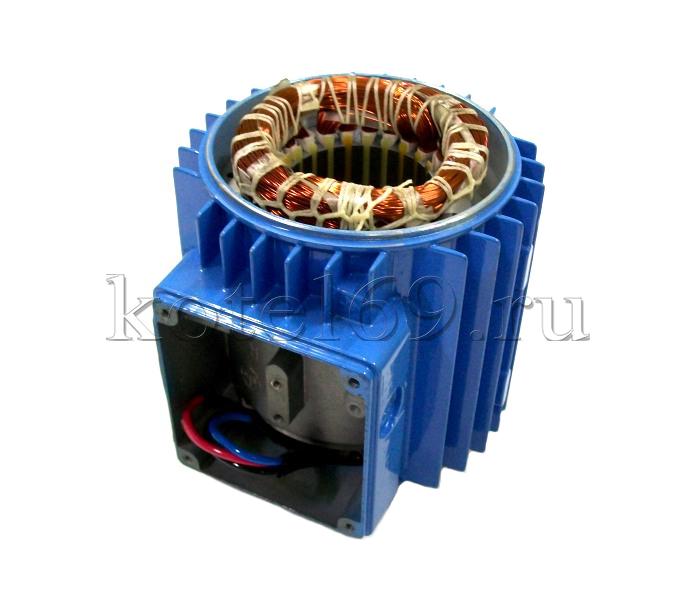 Корпус двигателя с обмоткой XKJ-80ES 0,37 кВт М3311, М344